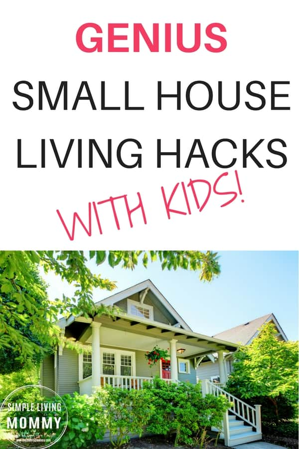 You don't need a big house to have a big family! This article is an amazing look at small house living with kids. Learn how to hack your small house to make it work for even a growing family!
