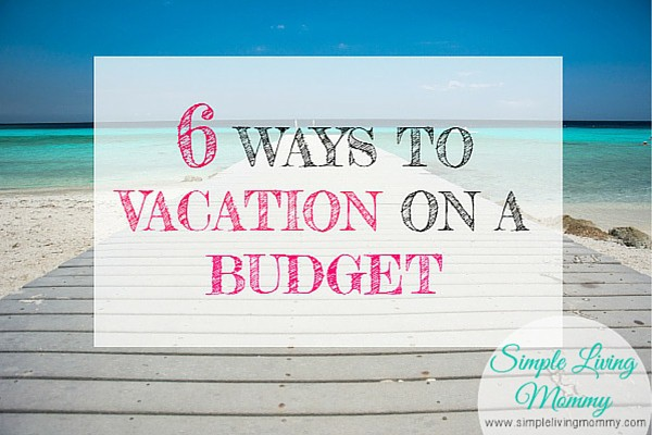 Think being frugal or sticking to a budget means you can't go on vacation? Think again! With these 6 tips, you'll be able to plan a getaway on almost any budget!