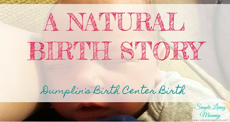 Expecting and planning a natural childbirth? This blogger shares her birth center birth story of her second son using the Bradley Method. I hope I can do this too!