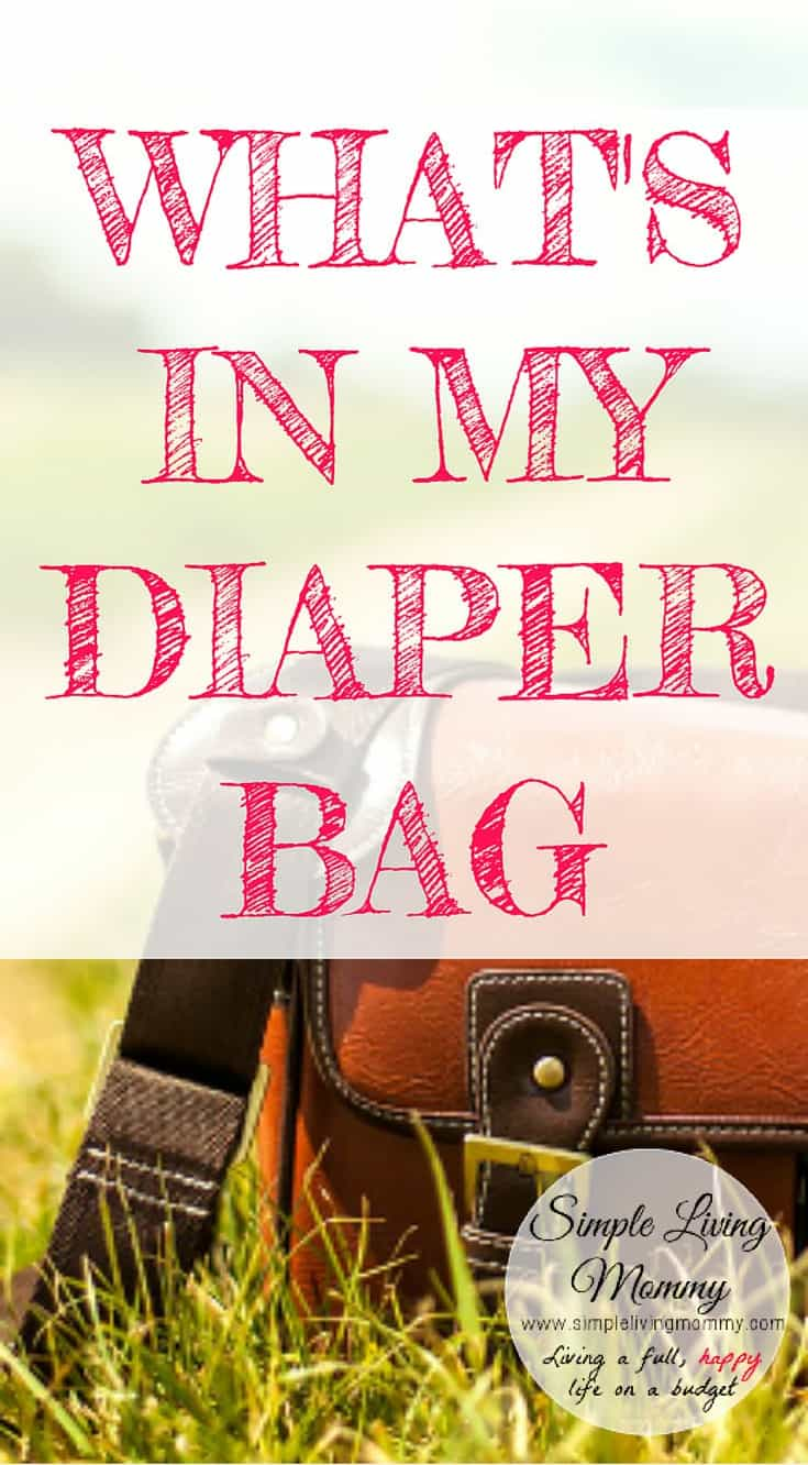 Do you have a jam packed diaper bag?  Do you ever wonder what other moms are lugging around with them?  This blogger lists what's in her diaper bag and why she over-prepares.