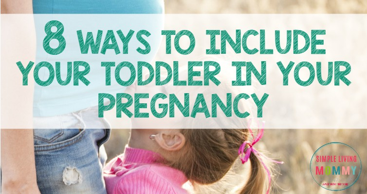 Do you have little ones at home and another one on the way? This mom has great ideas for including toddlers in pregnancy. I'm definitely going to try these with my toddler!