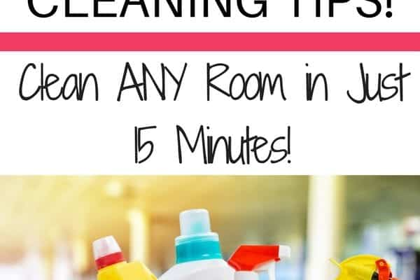 How to Speed Clean Any Room in 15 Minutes