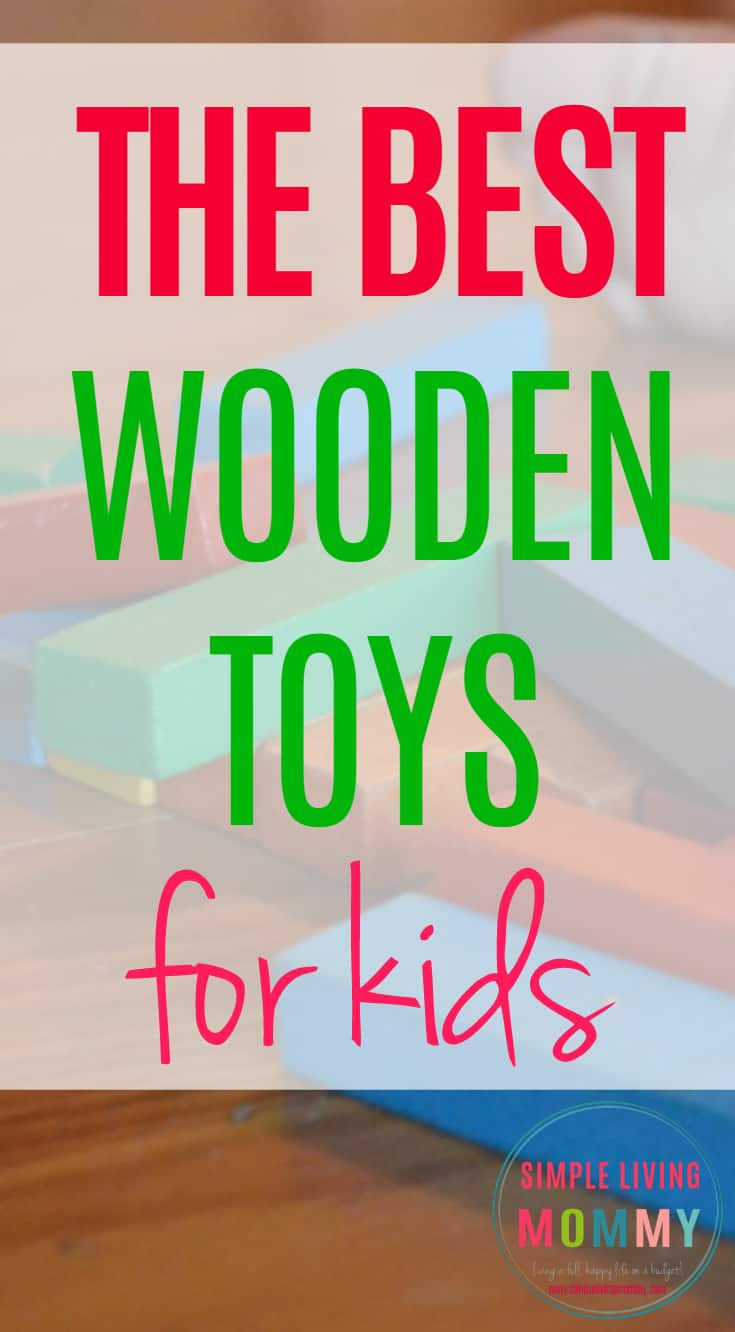 Looking for toys that will stand up to your kids? These wooden toys should still be in great shape even for future generations! I'm going to pick up some of the wooden food for my kids!