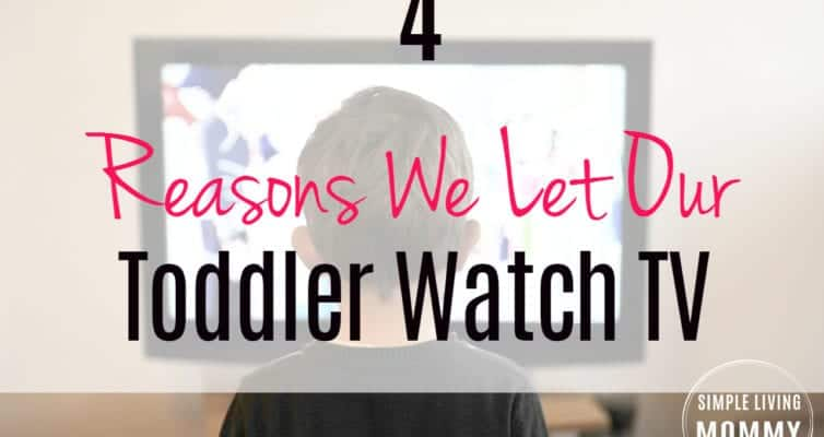 Trying to decide whether to letyour child watch TV? This mom makes no apology for allowing her toddler some screen time. I love the last reason she gives!