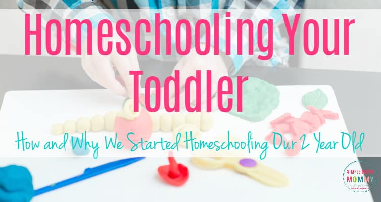 Plan to homeschool someday but think it's too early to start? This mom explains why the earlier you start homeschooling the better and how to homeschool on a budget with products from the dollar store!