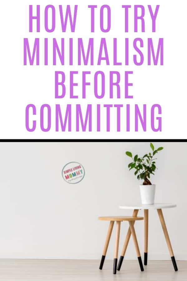 can you be minimalist with kids