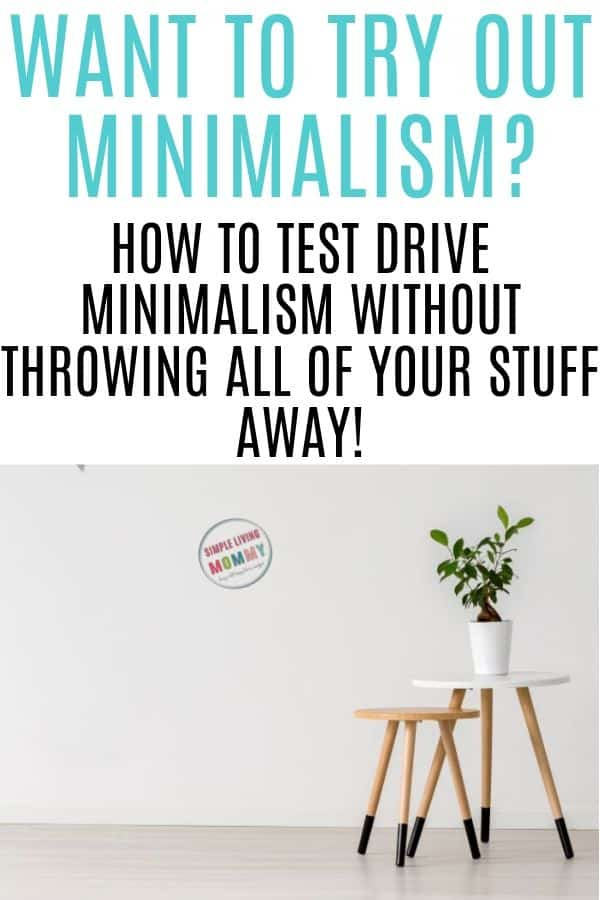 minimalism for beginners