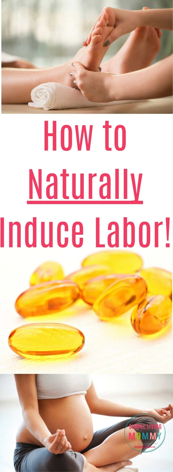 Whether you've gone overdue with your pregnancy or you're trying to avoid induction, there are tons of natural techniques you can try! Here are some natural labor induction techniques to try, plus one that worked for this blogger to start her labor!