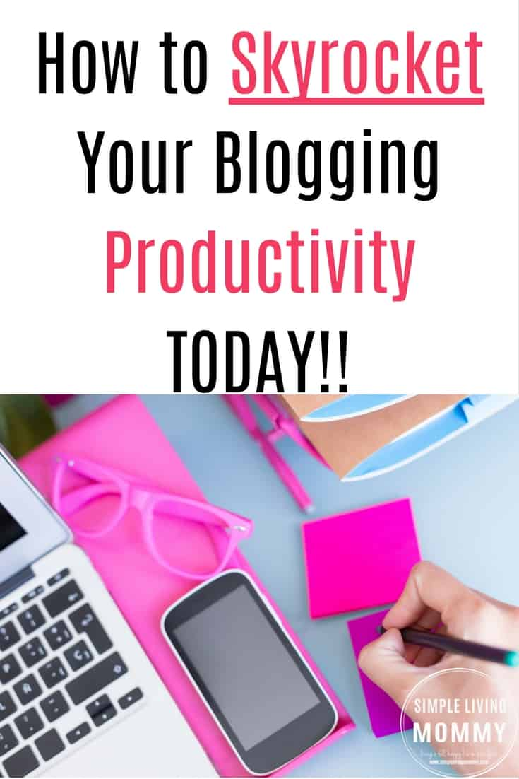 Drowning in a sea of blog resources but don't have the time to work through them? This blogger's simple approach to blog productivity will get you out from under the mounds of eBooks and eCourses collecting digital dust and help you implement strategies in record time!