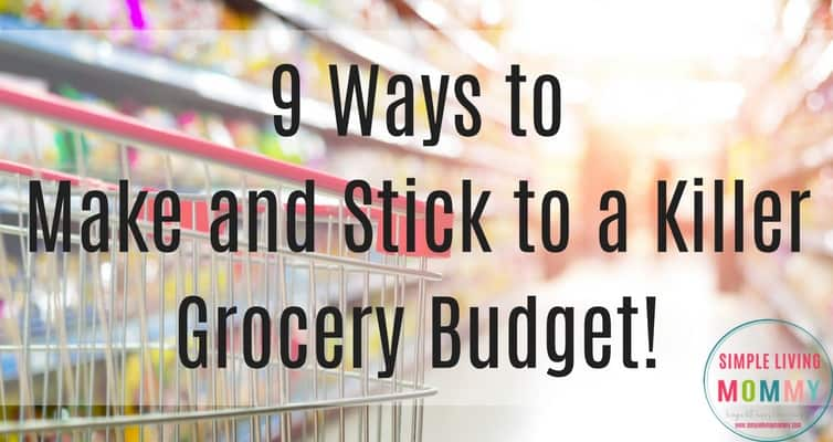 Grocery budget killing your finances? These awesome tips will stop the grocery drain on your finances and help you finally stick to a budget!