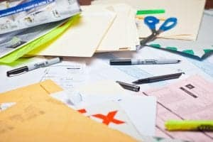 Organizing Tips for Paper Clutter
