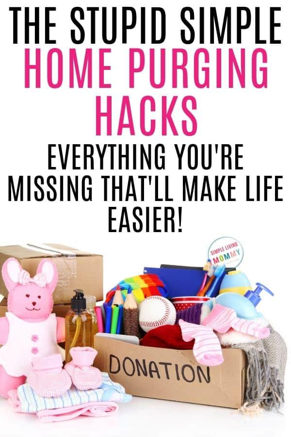 declutter hacks