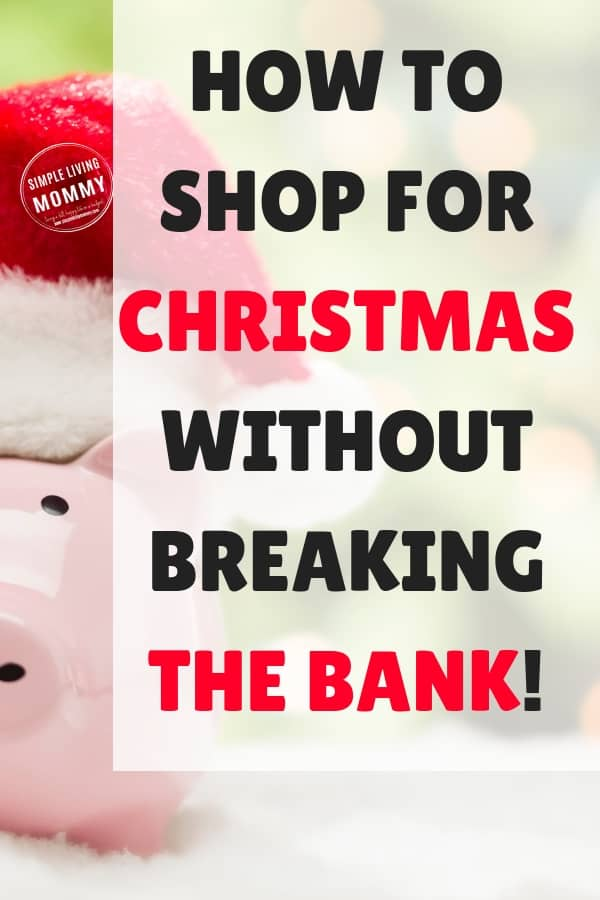 Don't go broke this holiday season - learn how to Christmas shop on a tight budget! These awesome tips will save you money AND keep you away from the mall!