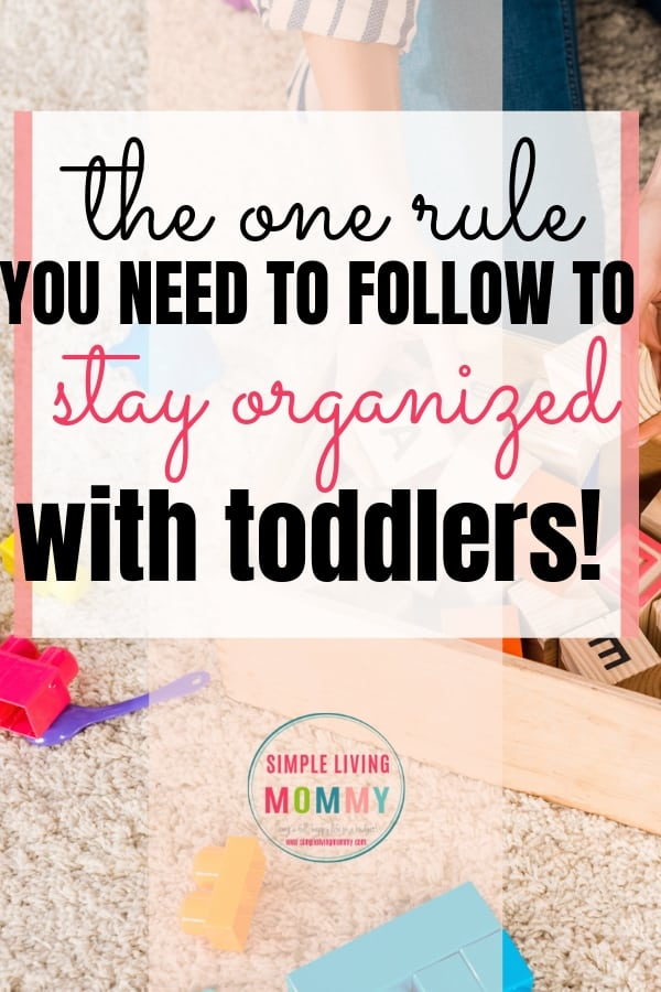 How to keep your house organized with toddlers - Are you overwhelmed with your house and need easy ways to declutter your home without neglecting your young kids? These speed cleaning tips will help you clean your house fast and keep your home under control!