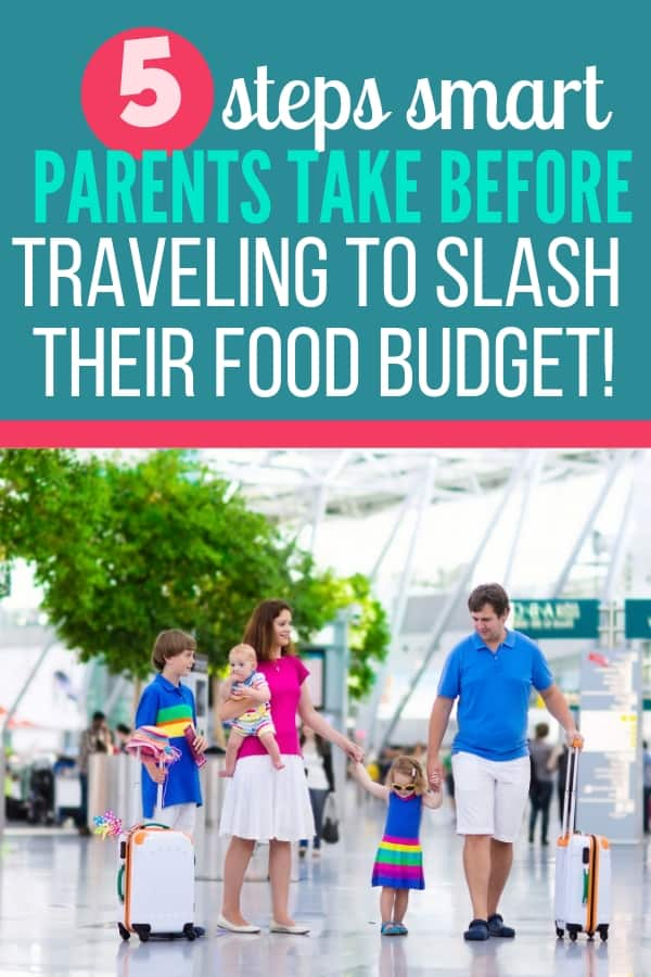 How to save money on food while traveling with kids! Taking a vacation on a tiny budget is possible if you learn to control your food costs. These tips will save you hundreds over the course of a week vacation!