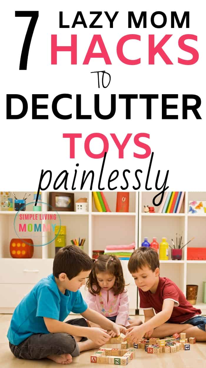 Playroom inspiration to declutter toys