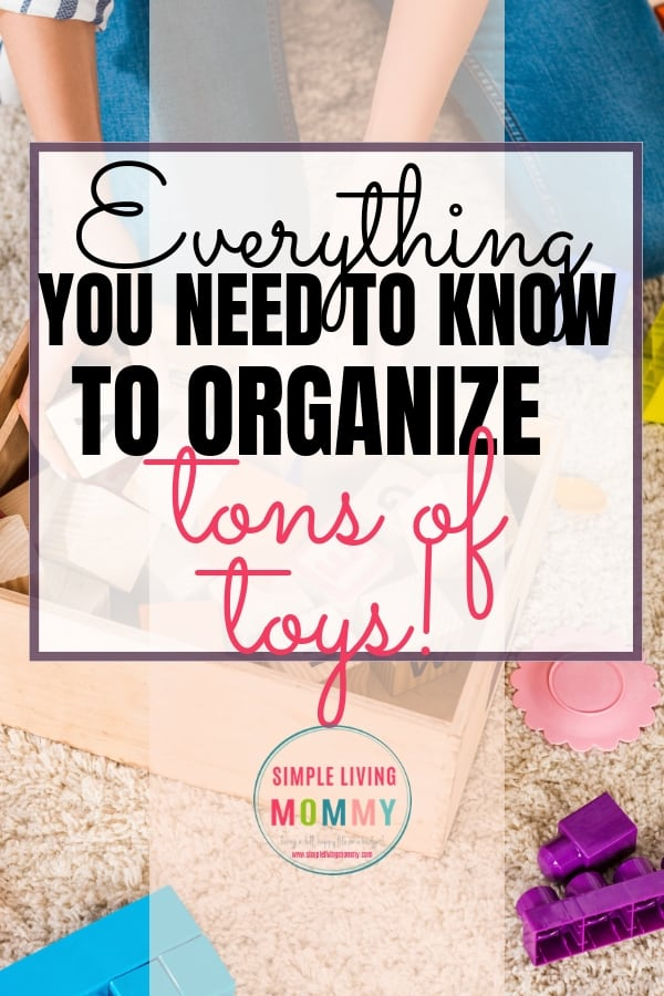 Is your home overrun by toy clutter? Use these toy organization ideas to reclaim your home with cheap toy storage and living room toy furniture all on a budget!
