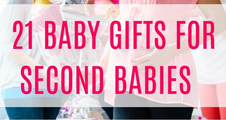 Best baby gifts for second babies! Whether you're going to a baby shower for second baby or are looking for the perfect big brother gift, these second baby gifts are sure to please any second time parent!
