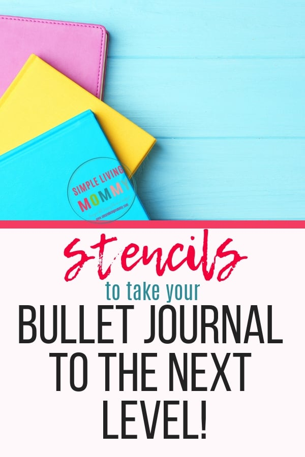 Best bullet journal stencils! Looking for bujo stencils to stencil bujo handwriting or metal stencils that last? These are the best bullet journal stencils!
