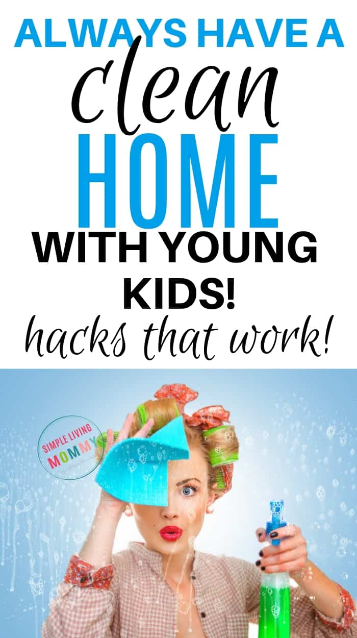 Clean home with kids - secrets that really work!