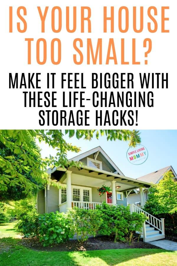 small house organizing hacks