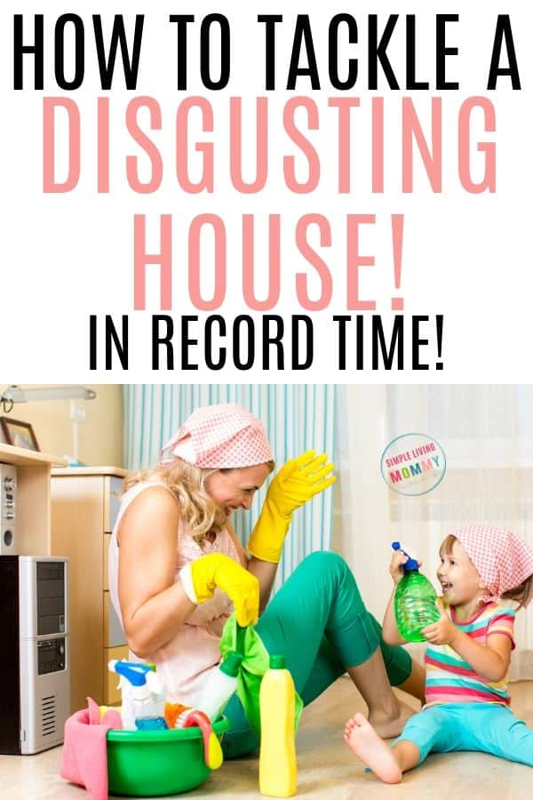 fastest way to clean a house
