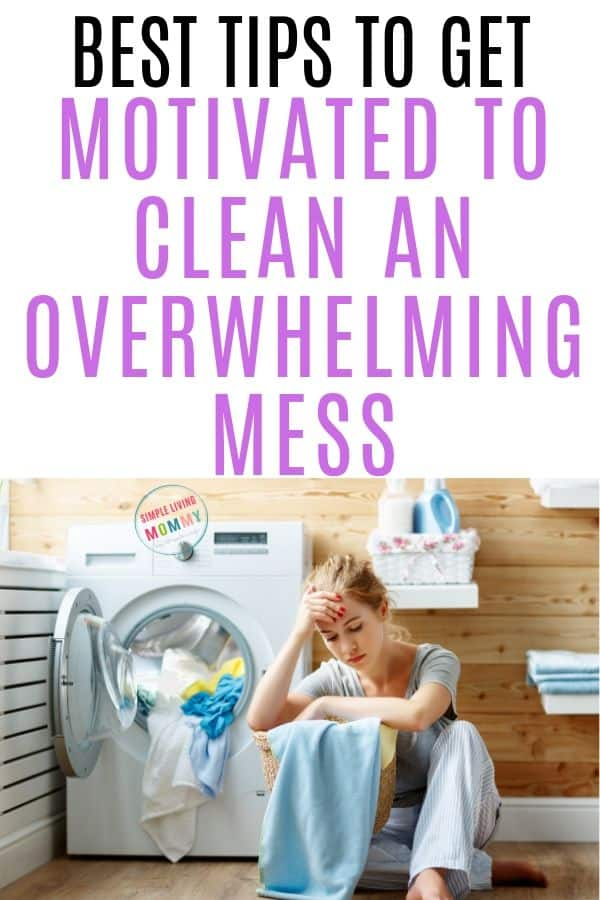 get motivated to clean