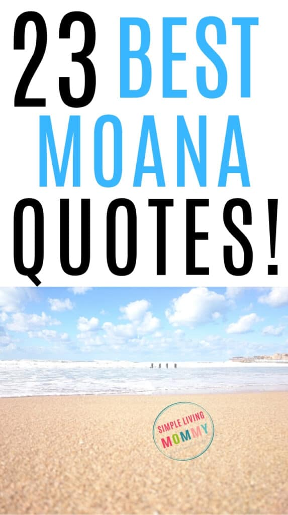 Quotes from Moana