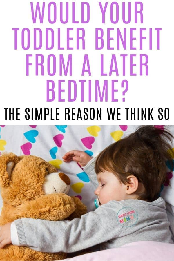 homeschool toddler bedtime