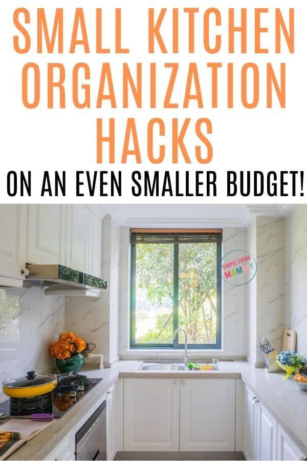 cheap kitchen organization