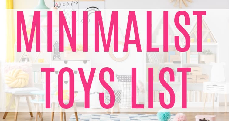 minimalist toy list