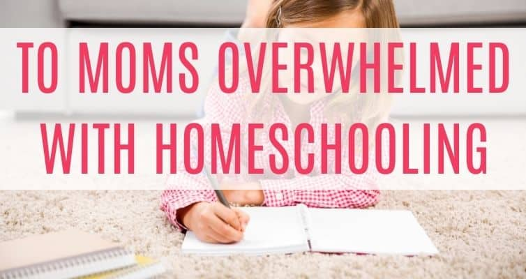 Are you overwhelmed by homeschooling or cyber school? Do you worry you aren't smart enough to homeschool your kids? Do you ever worry your kids will be behind when or if they go back to public school? Read this to calm down!