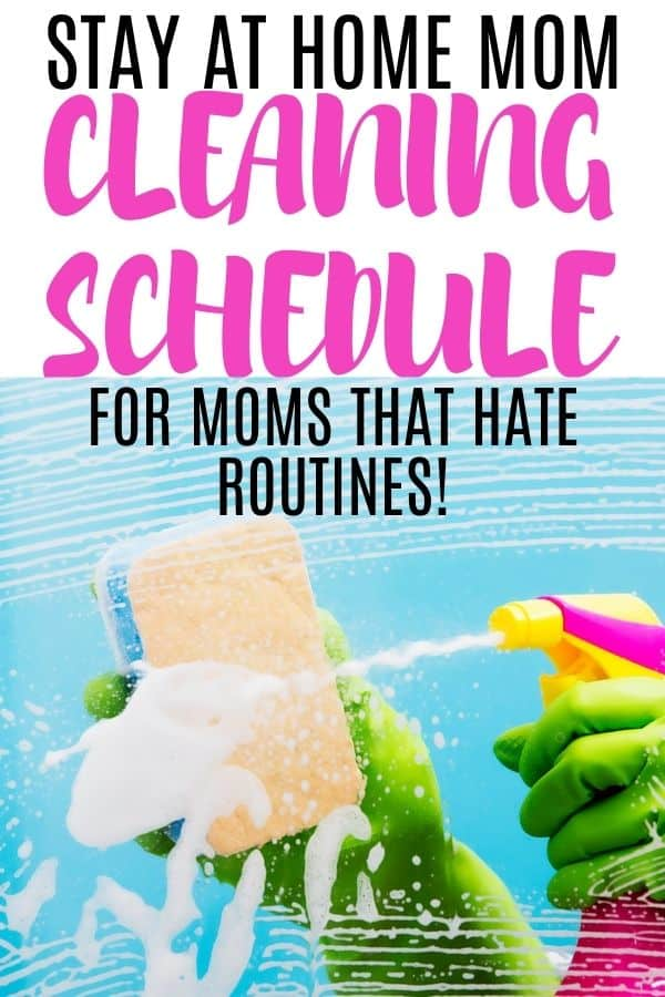 cleaning for overwhelmed moms