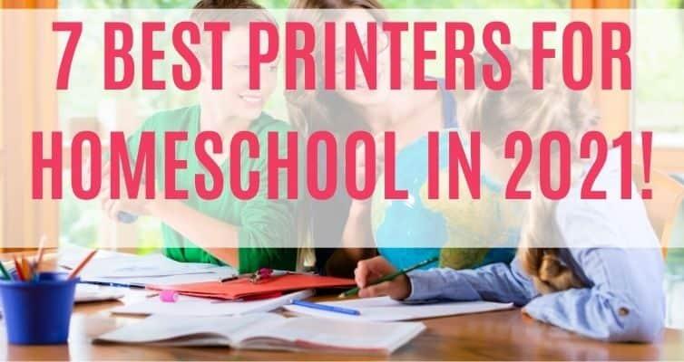 best homeschool printer