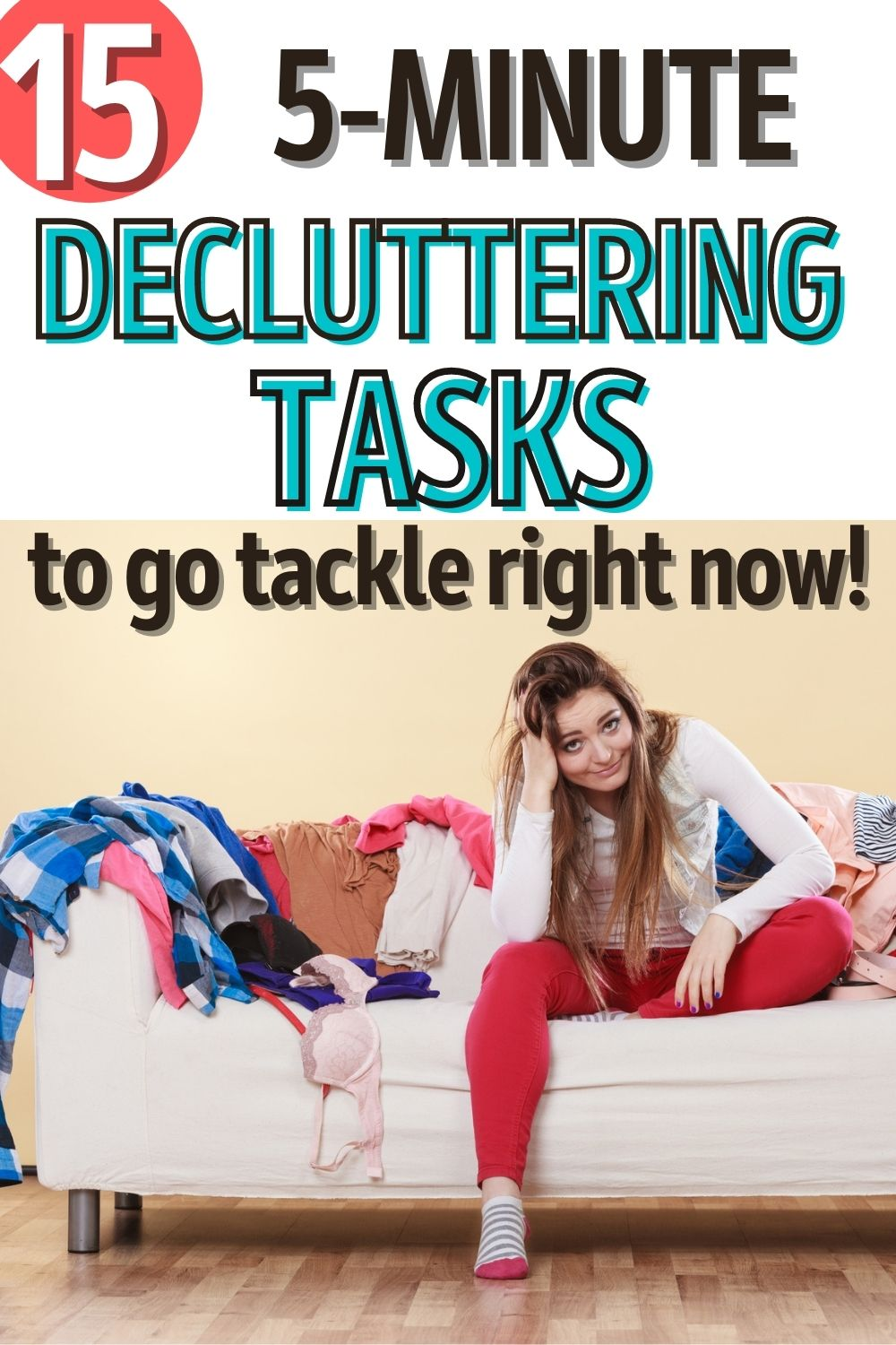 how to declutter fast