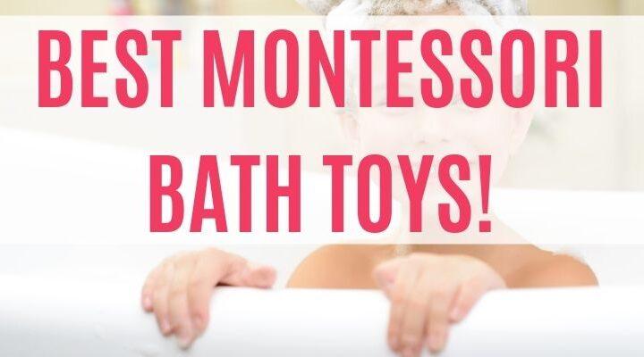 educational bath toys