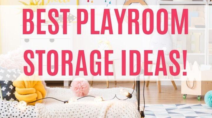 small playspace storage