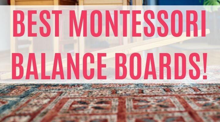 montessori balance boards
